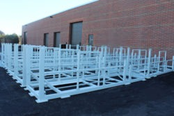 Frames for Telescoping conveyors.