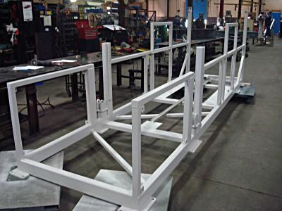 Frame for Telescoping Conveyor