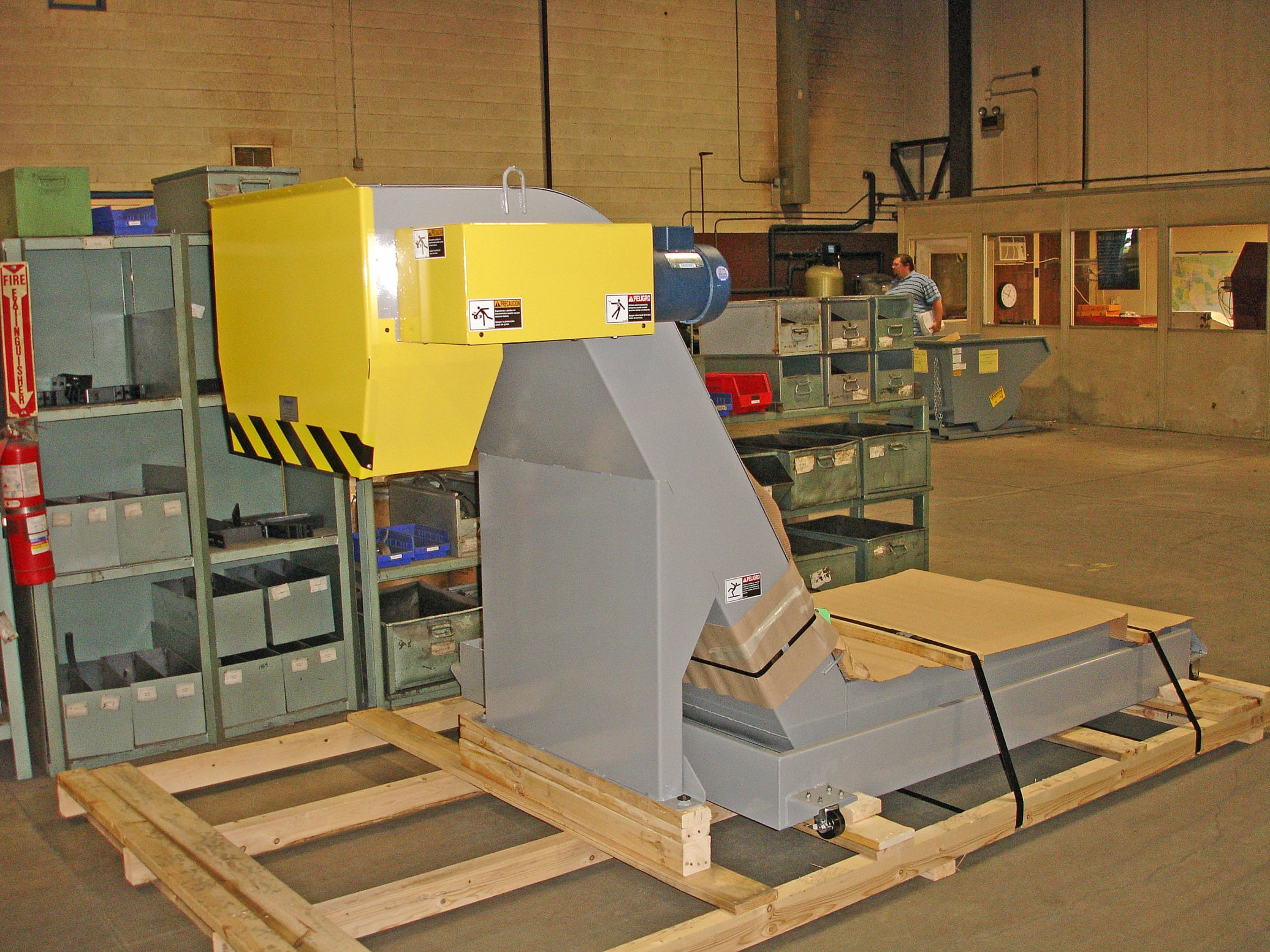 Chip Conveyor from Jorgensen Conveyors