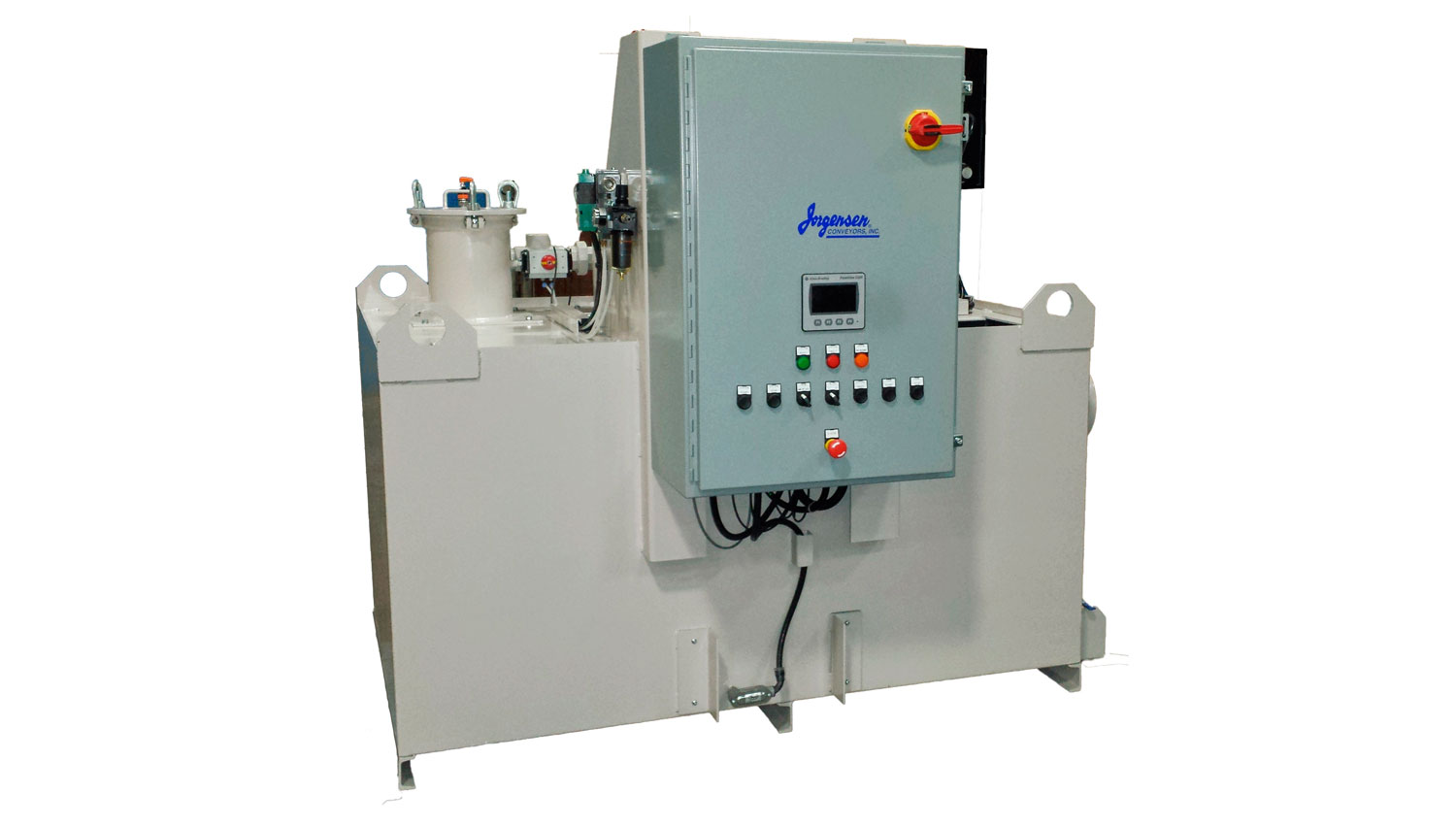 Machine Tool Coolant Systems : High pressure coolant filter systems jorgensen conveyors