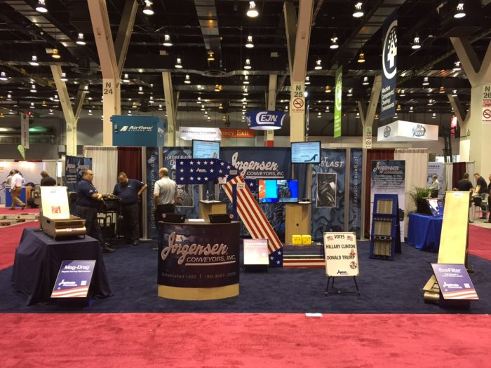 Jorgensen Conveyors Exhibits at IMTS