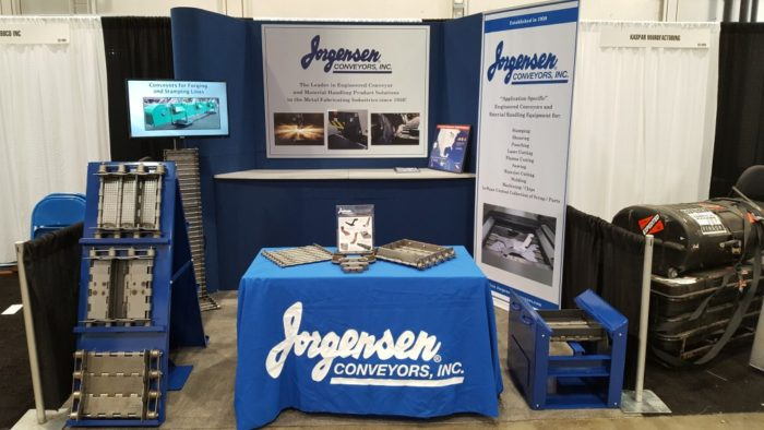 Jorgensen Exhibits at FABTech