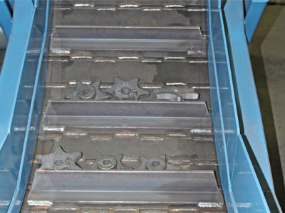 Conveyors for casting by Jorgensen