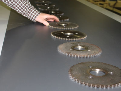 Conveyors used for Inspection