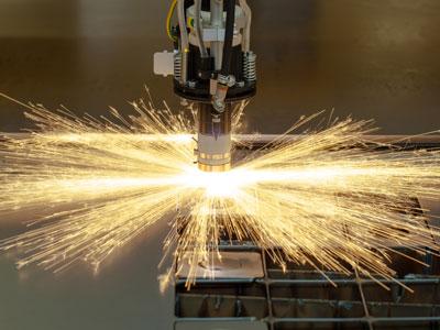 Conveyor for laser cutting from Jorgensen - Laserveyor