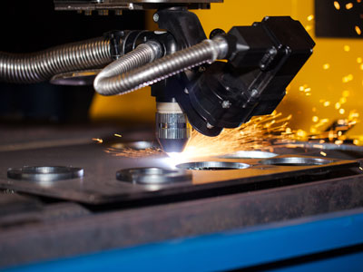 Conveyors for plasma cutting scrap removal by Jorgensen