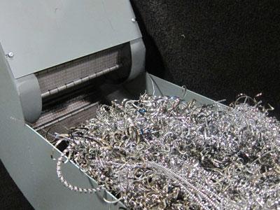 Chip Conveyor for metal scrap handling by Jorgensen MunchMan