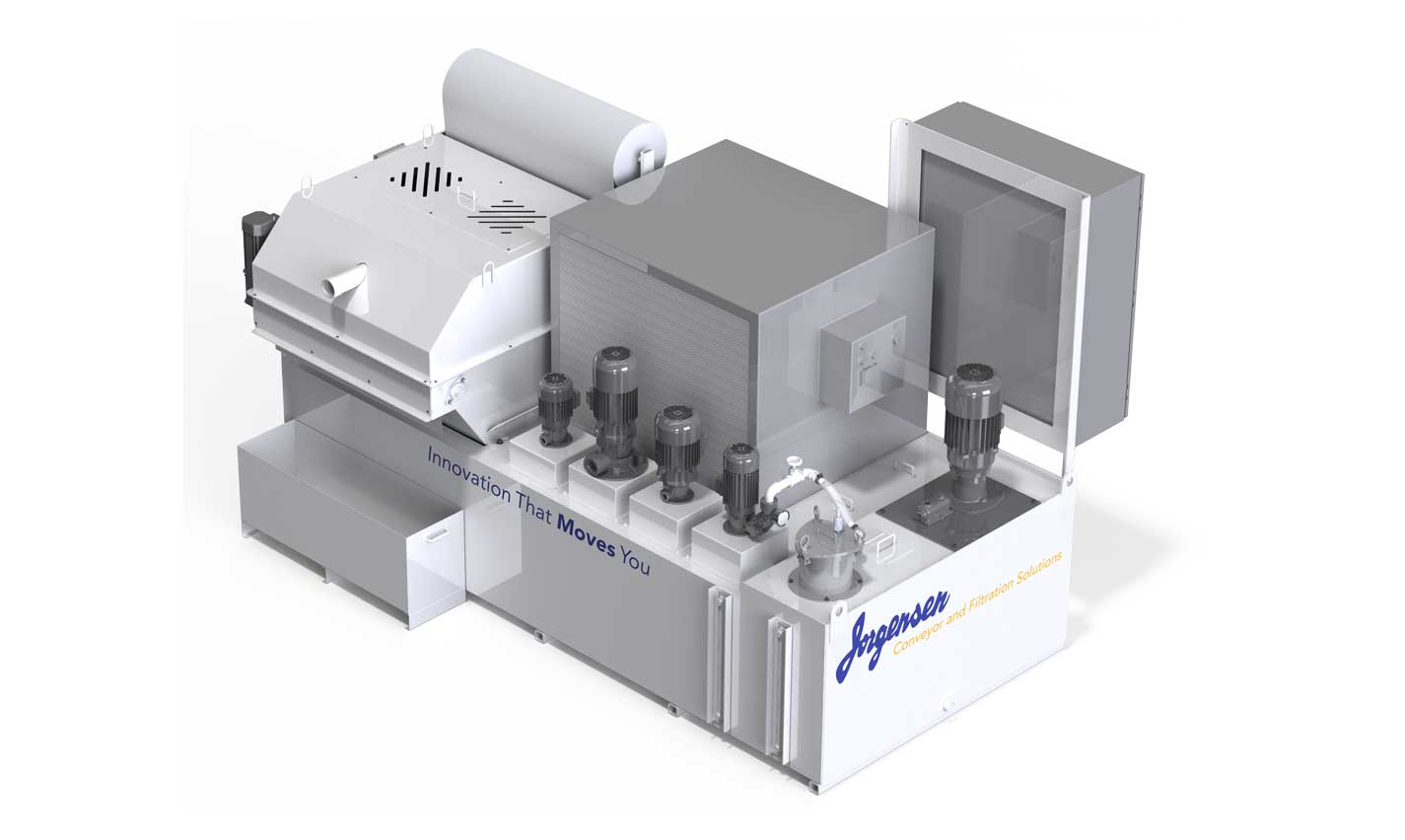 Gravity media coolant filtration system
