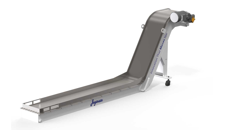 Magnetic belt industrial conveyor - Jorgensen