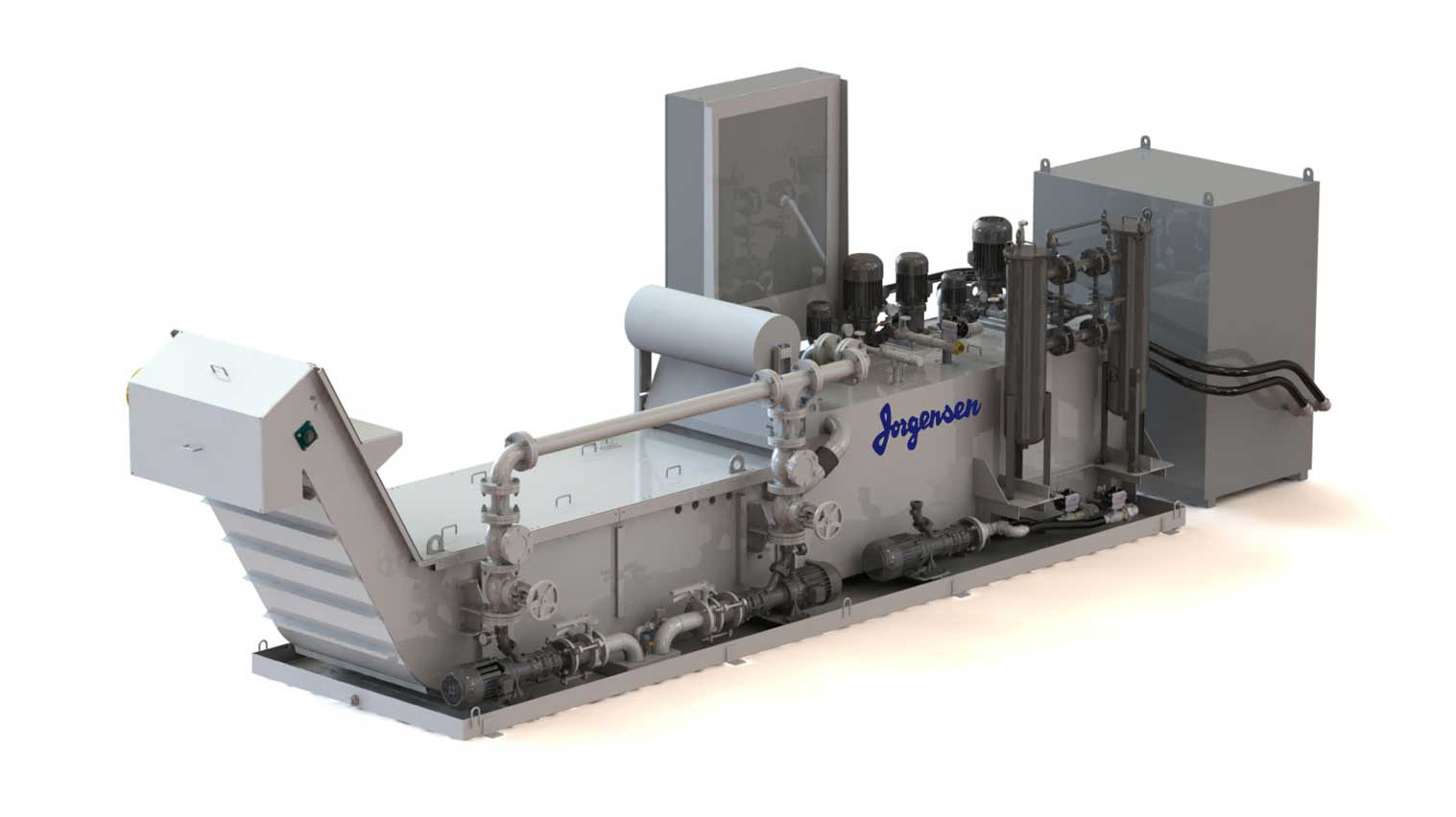 Vacuum media coolant filtration up to 10 microns